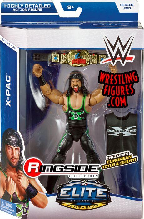 WWE Mattel Elite European Championship