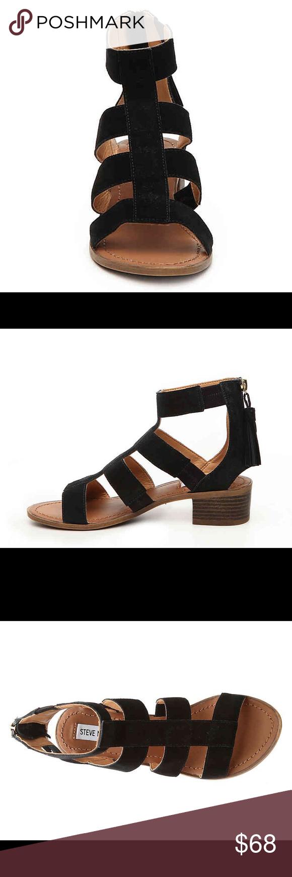 9a453f39cfc3 🌟NWT🌟 Steve Madden Daviss Black gladiator sandal NWT great shoe!  DESCRIPTION Item