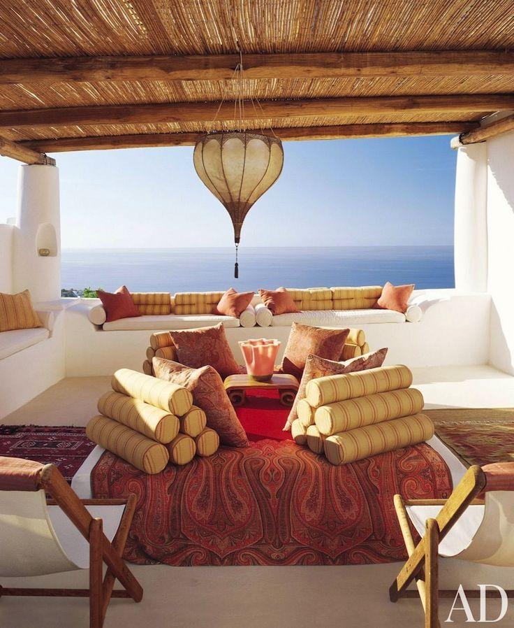 Foto di lipari e isole eolie verande terrazzo e vita da for Case in stile adobe