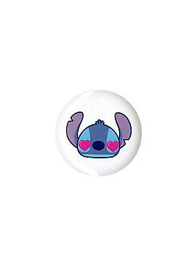 Pin from Disney's <i>Lilo and Stitch</i> with a Stitch heart eyes design.