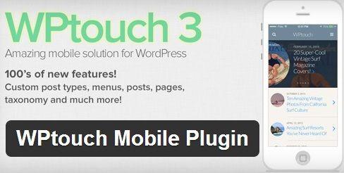 WPtouch, un plugin para crear la versión móvil de nuestro blog realizado e Wordpress.