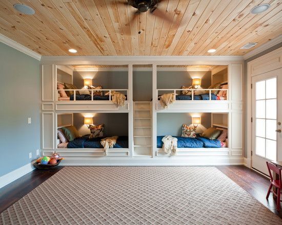 Cool Kids Room Design With Bunk Bed Ideas Kiddos Rooms