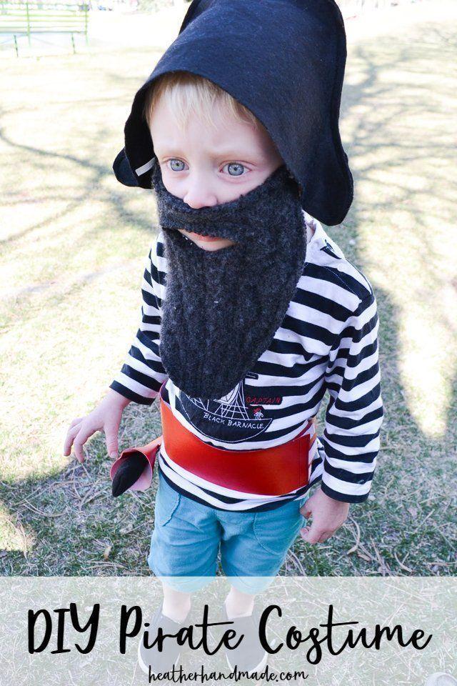 Easy DIY Pirate Costume #diypiratecostumeforkids Easy DIY Pirate Costume #diypiratecostumeforkids