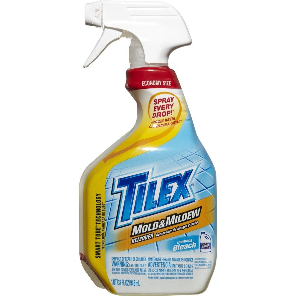 Spritz Some Of This Potent Mildew Remover On Icky Tiles Leave The Bathroom And Venture Back In About 10 Minutes Later For The Cleanest Magic Trick Ever Mold And Mildew Remover