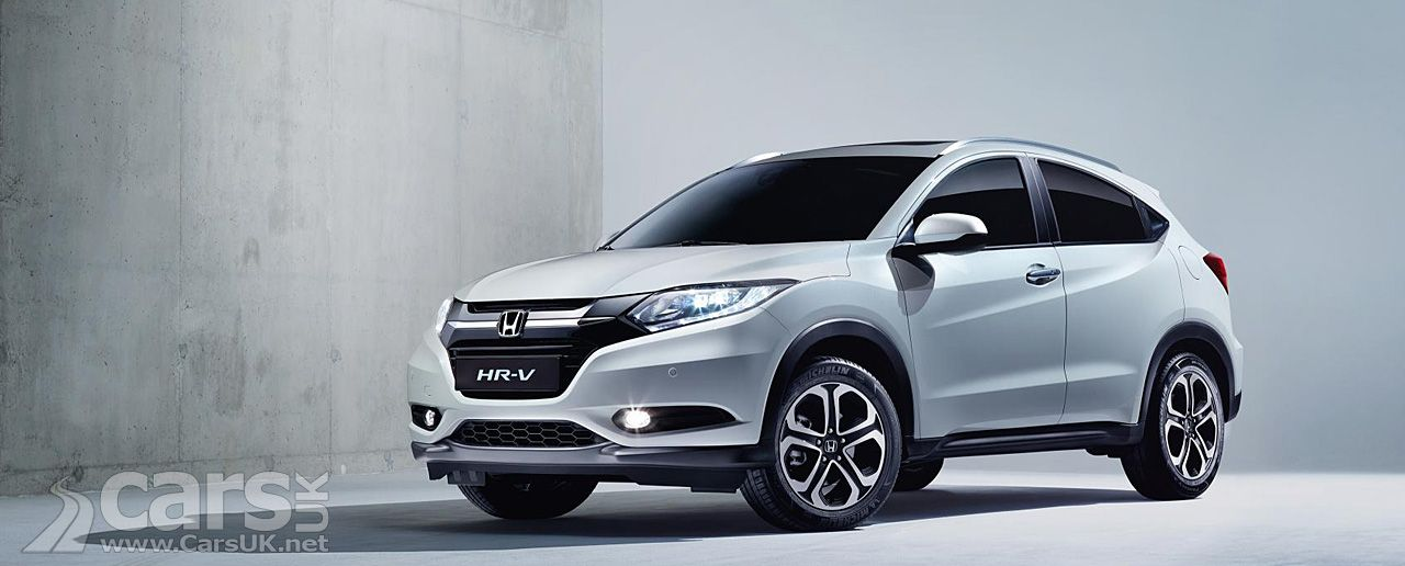 2015 Honda HRV Crossover revealed in production guise