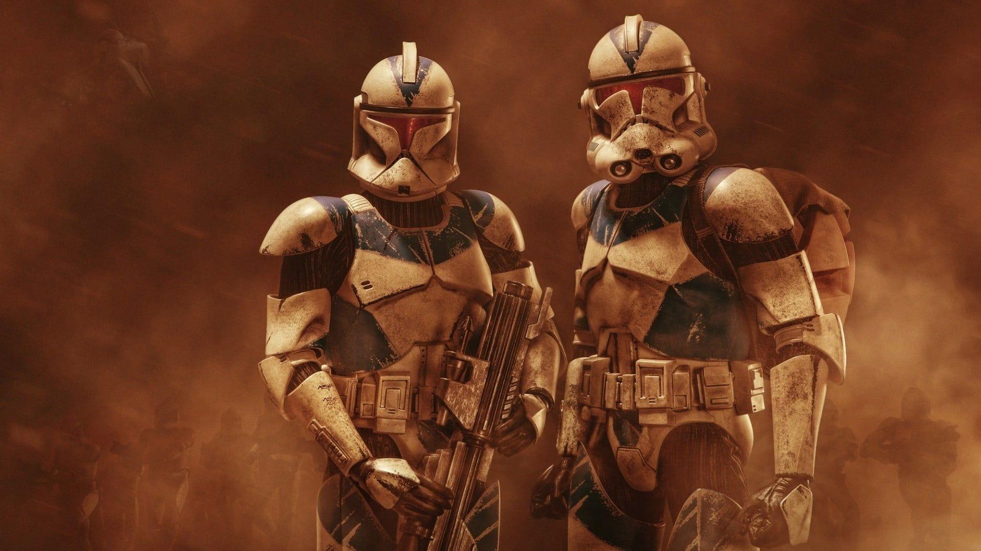 Two Star Wars Character Wallpapers Clone Trooper Star Wars Fan Art Galactic Republic 5 In 2020 Star Wars Characters Wallpaper Star Wars Wallpaper Star Wars Clone Wars