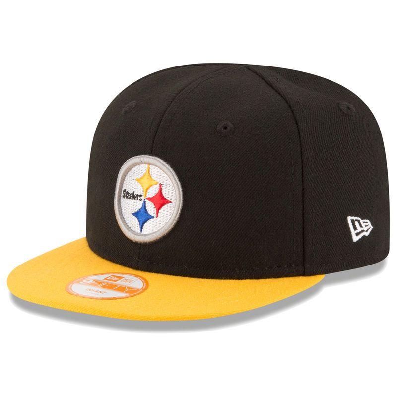 12df9e8c4e3abd Pittsburgh Steelers New Era Infant My 1st 9FIFTY Snapback Adjustable Hat -  Black/Gold