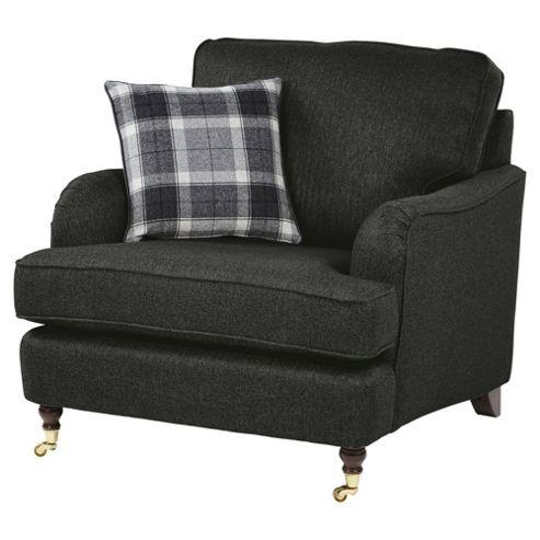 Best Carrington Armchair Dark Grey Armchair Grey Armchair 640 x 480