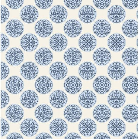 100/% cotton fabric 50 x 110 cms Black//White Circles Half Metre