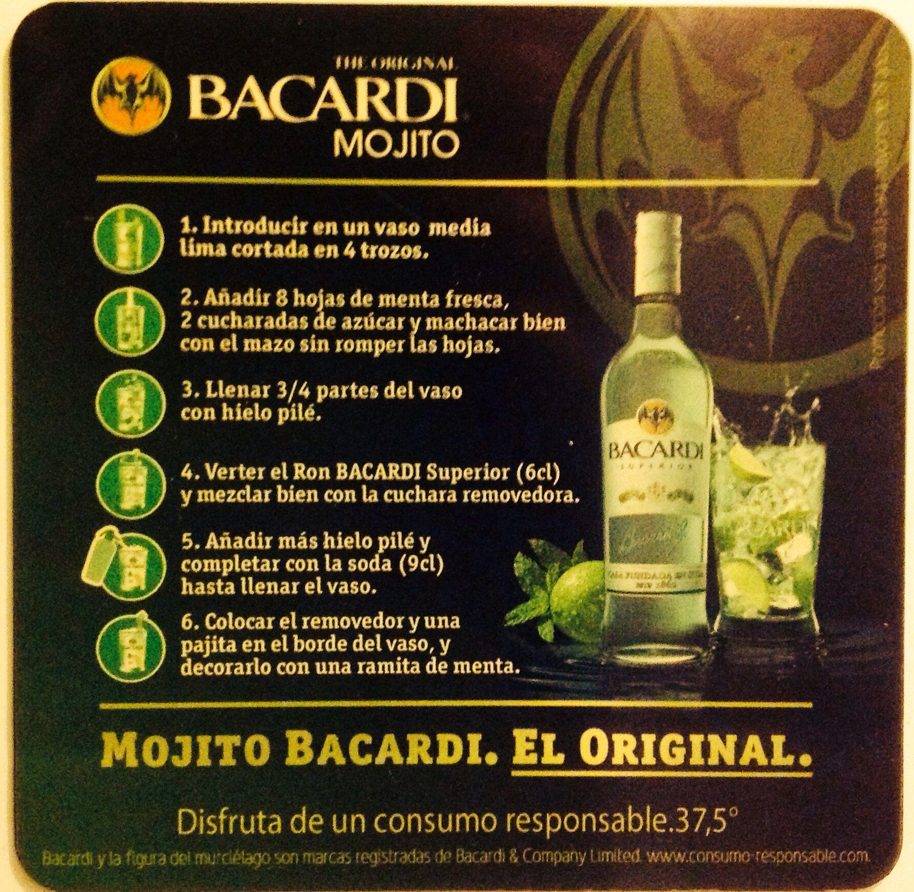 Como Se Prepara El Mojito Bacardi