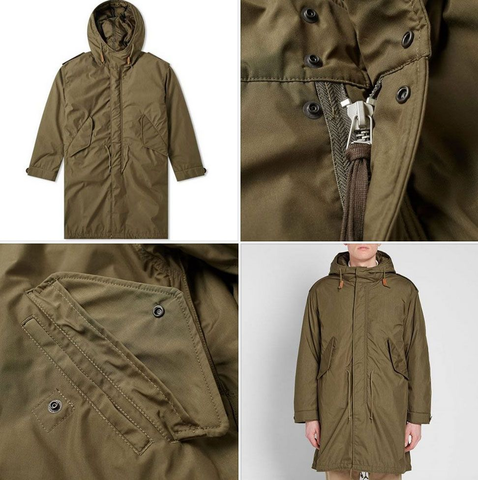 Sale watch: Beams Plus M51 Down Parka | Coats and Outerwear