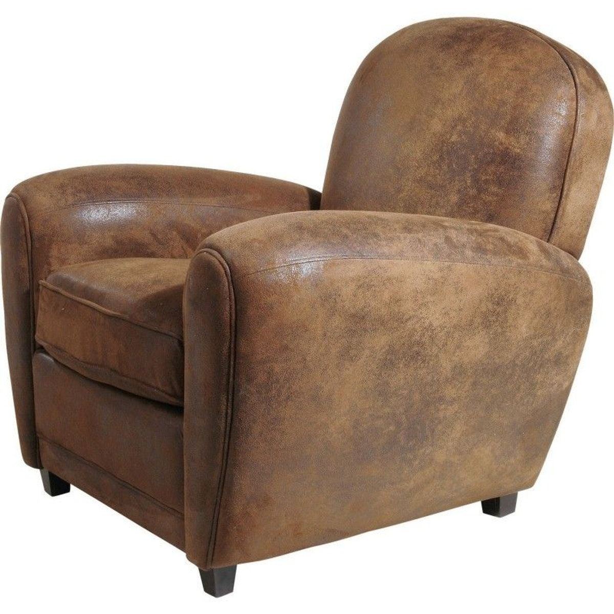 Round Club Taille1 Vintage Fauteuil Design Kare Place wPiTkZulOX
