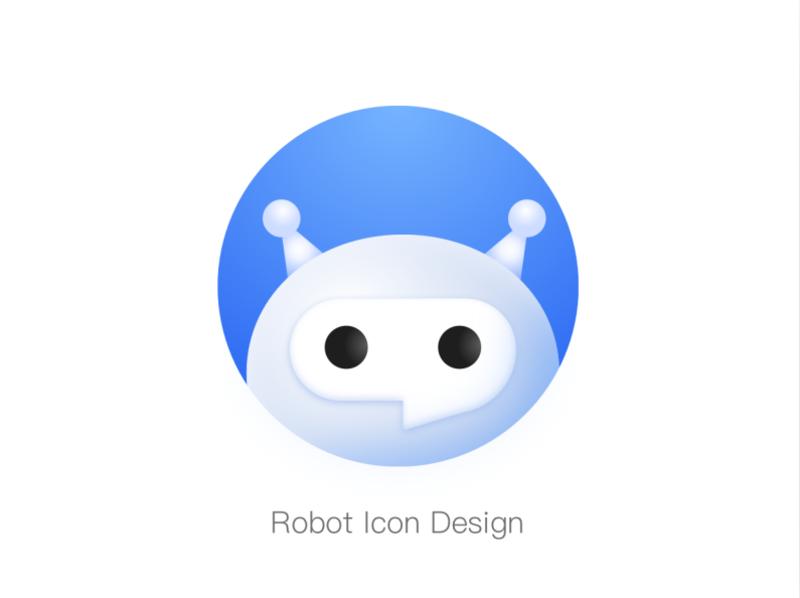 Robot Icon Design Robot Icon Icon Design Mascot Design