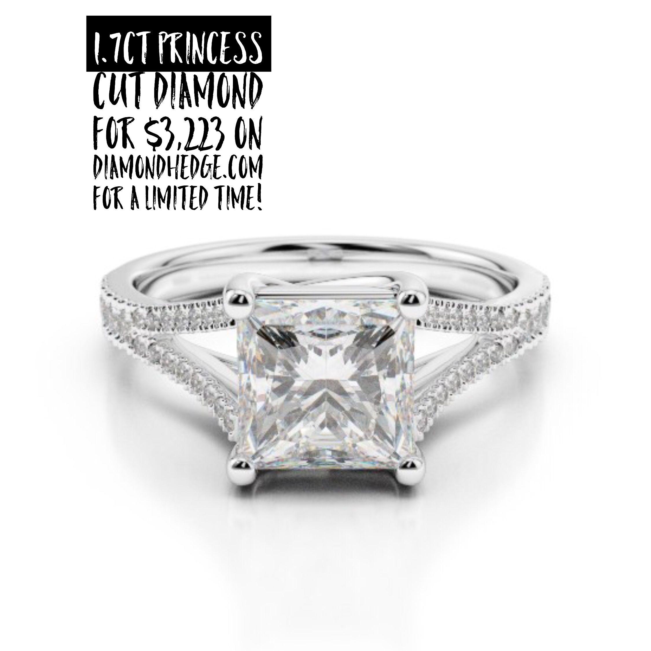 Ct princess cut diamond for on diamondhedge for a