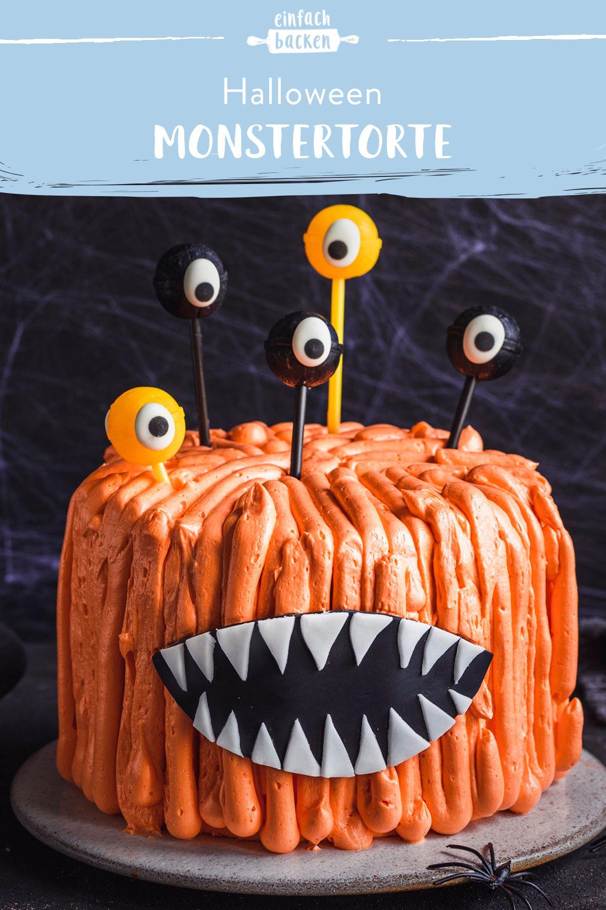 Monstertorte Rezept in 2020 Halloween lebensmittel