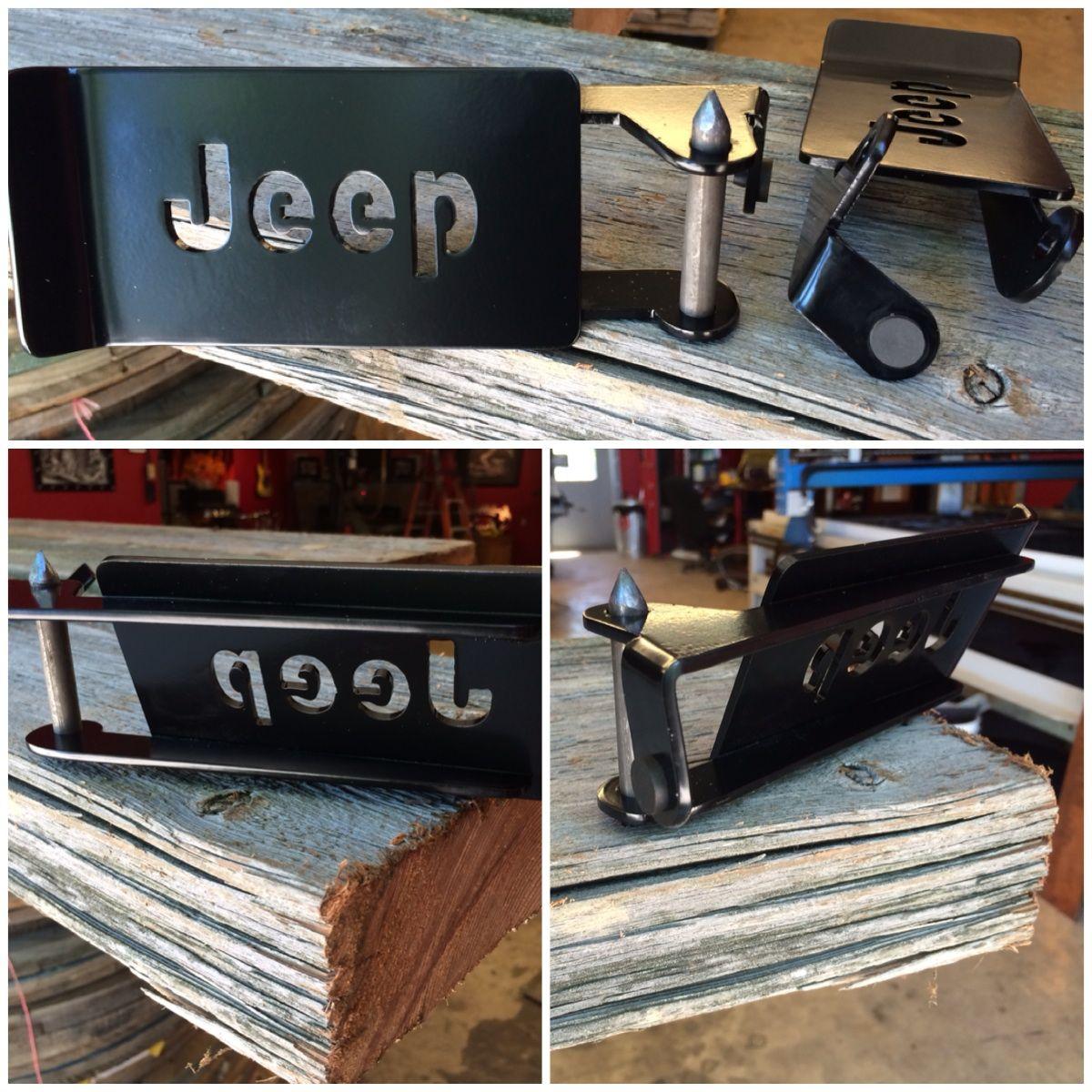 Jeep Foot Pegs Installs In The Lower Door Hinge With The Door Off