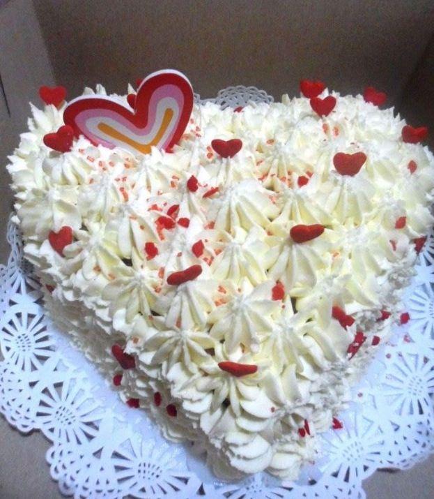 Torta amor en crema