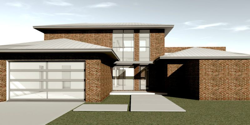 Ganache Brick House Plan