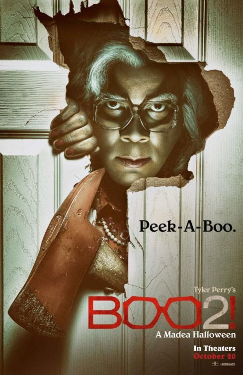 Boo 2! A Madea Halloween Movie Poster | Movies | Pinterest ...