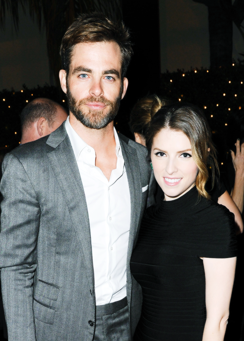 Chris pine dating anna kendrick