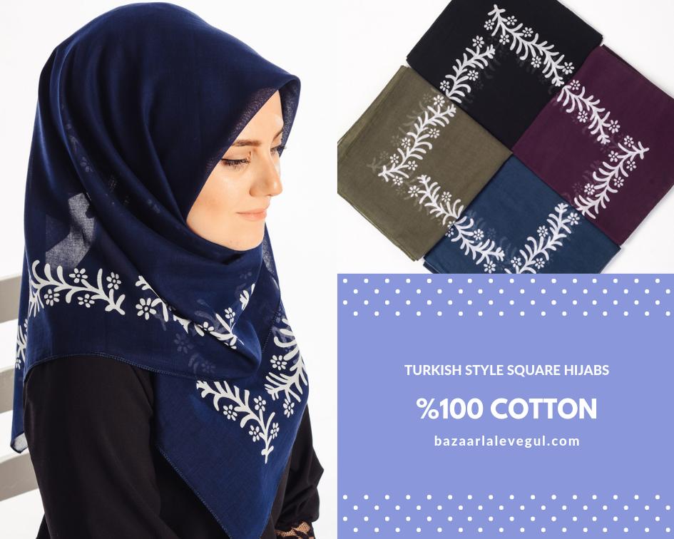 Photo of Turkish Square Hijabs