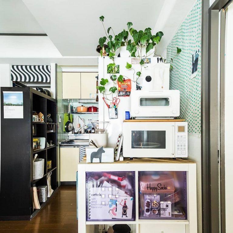 玄関あけたらすぐキッチンの1ldk 区切り がカギ 上手な家具配置のコツ インテリア 収納 インテリア 部屋 インテリア