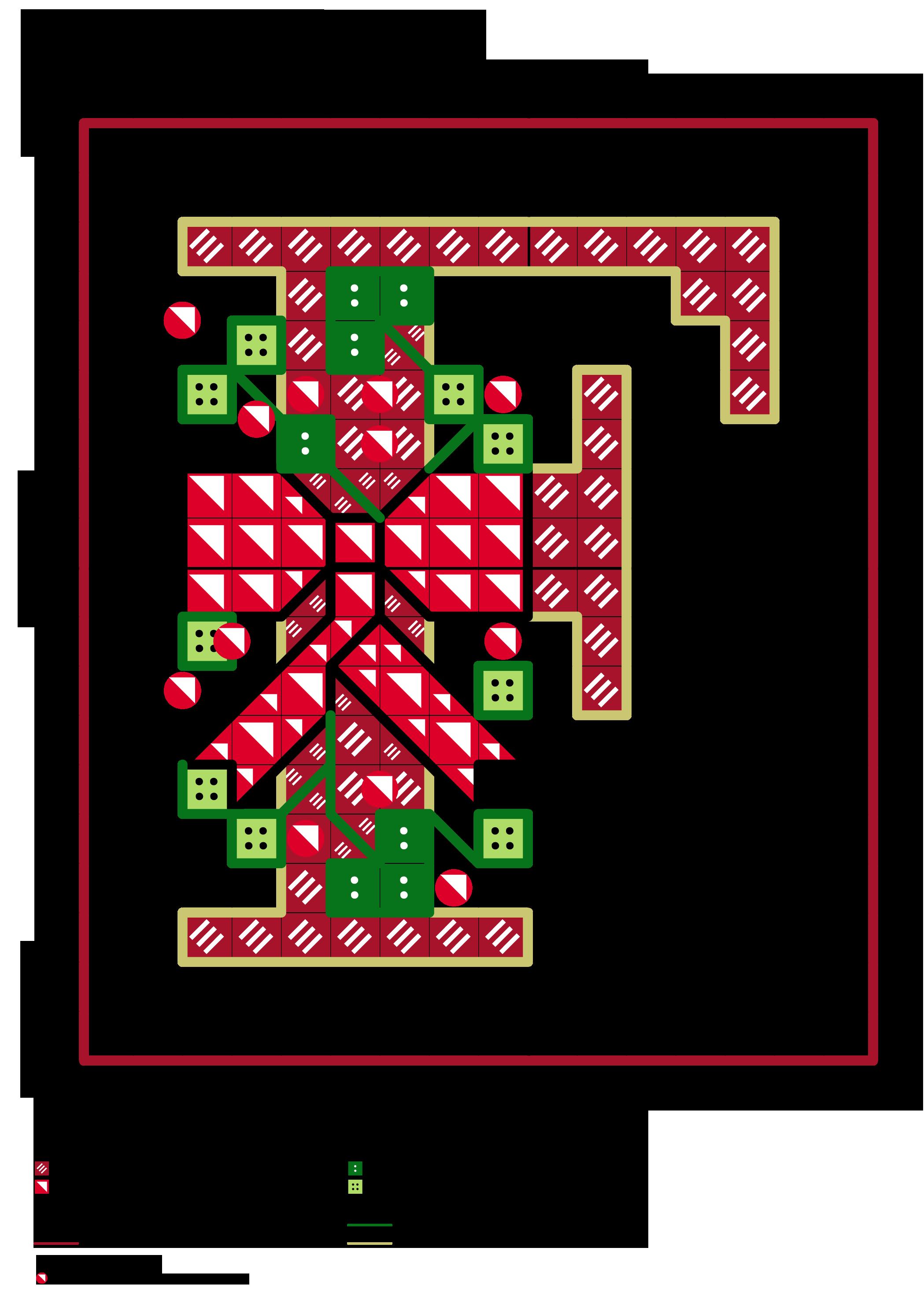 alfabeto dei fiocchetti natalizi F | stitches~alphabet | Pinterest ...