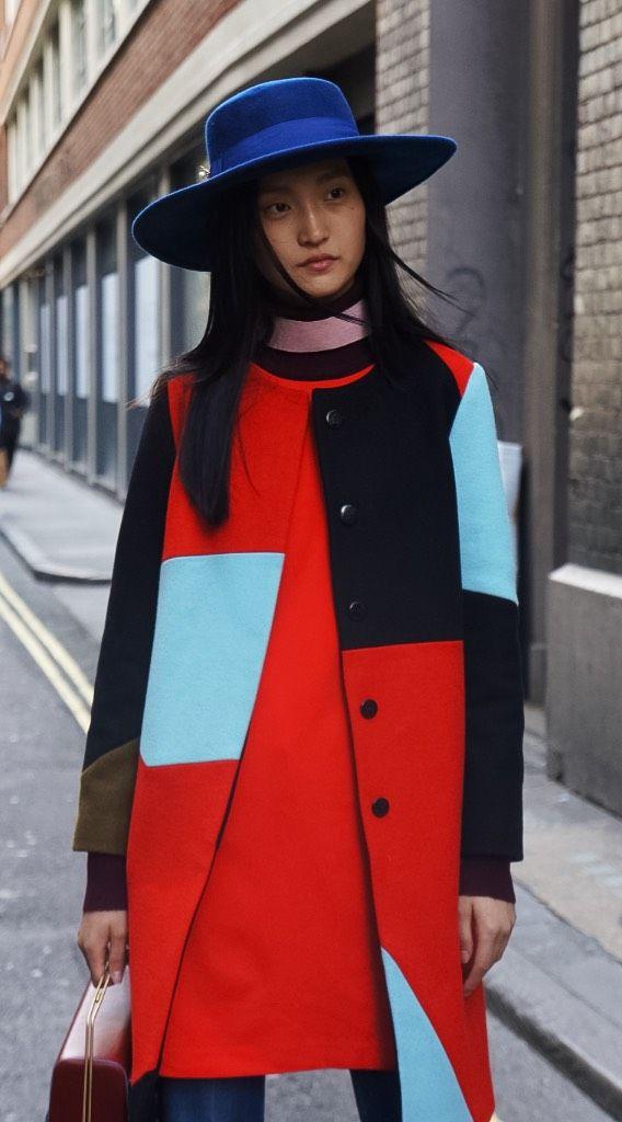 Street Style Photo By @UrbanForward London Fashion Week September 2015 Follow us on Instagram @urbanforward