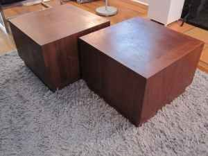 Mcm Cube Side Tables From Craigslist 150 Pair Cube Side Table Side Table Table