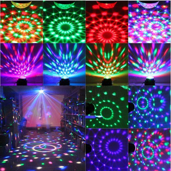 Mini Rgb Led Party Disco Club Dj Light Crystal Magic Ball Effect Stage Lighting Indoor Lighting From Lights Lighting On Banggood Com Party Lights Ball Lights Disco Lights