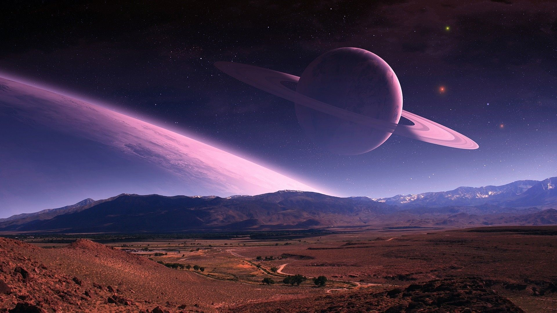 Hd Planet Wallpaper Imaginary Landscapes Pinterest Planets