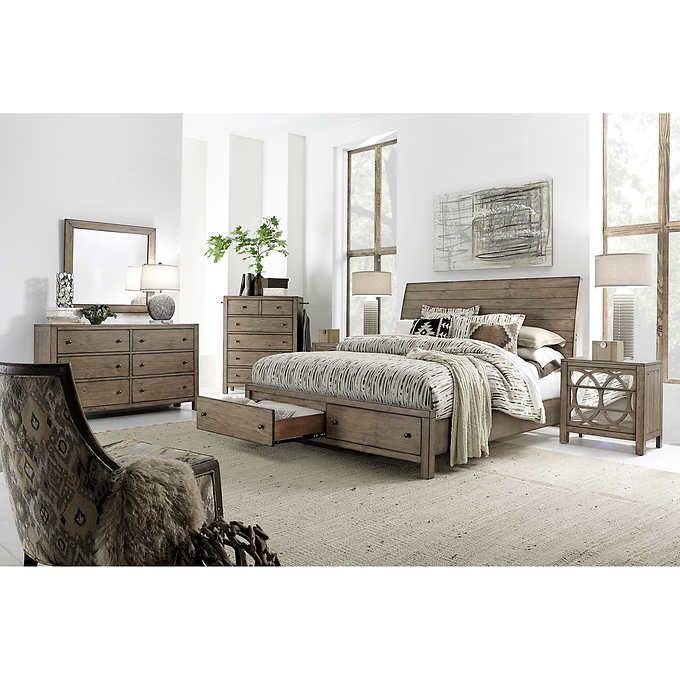 Simple Elegant 6 piece King Storage Bedroom Setoduct ml HD - Contemporary costco bedroom furniture Top Design