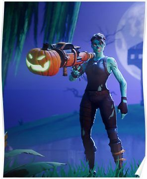 Fortnite Ghoul Trooper Poster Products Epic Games Fortnite