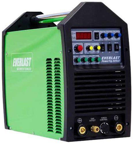 Everlast PowerTig 225LX AC DC TIG Stick Pulse Welder 220/240