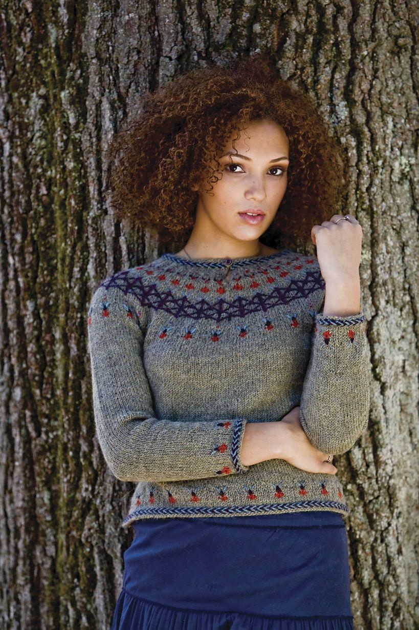 Ravelry faux embroidery yoke sweater pattern by robin melanson ravelry faux embroidery yoke sweater pattern by robin melanson bankloansurffo Images