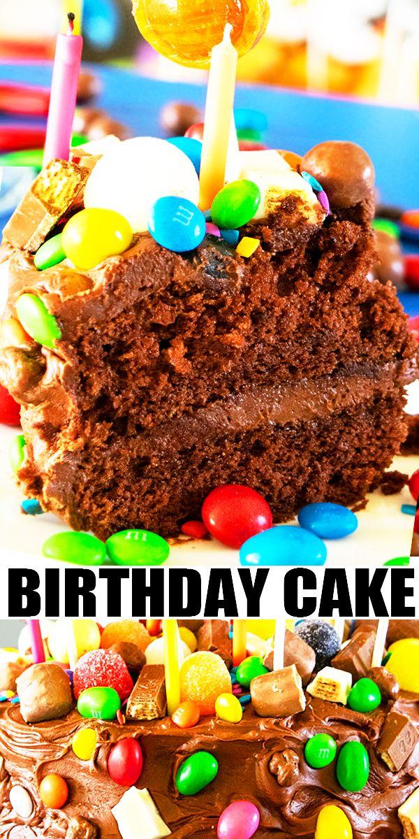Excellent Easy Birthday Cake Recipe The Best Birthday Cake Homemade With Funny Birthday Cards Online Hendilapandamsfinfo