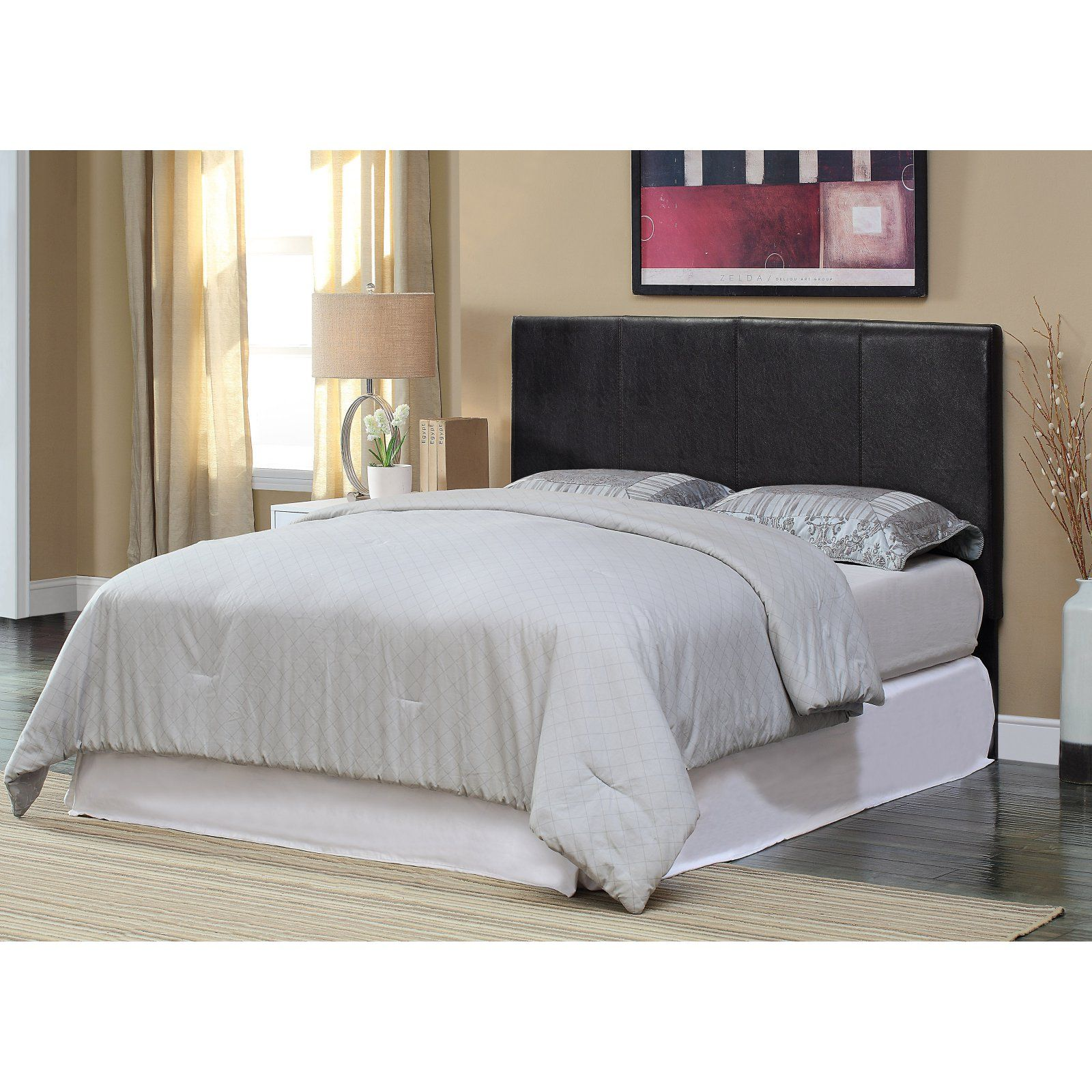 Huntington Bedroom Furniture Furniture Of America Huntington Upholstered Headboard Espresso
