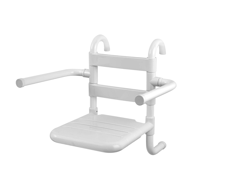 Sedile rimovibile in doghe con braccioli ribaltabili seggiolini