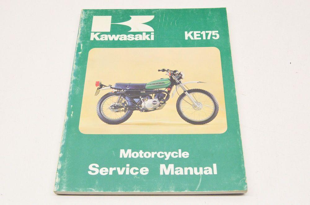 OEM Kawasaki Service Manual 76-78 KE175   eBay Motors, Parts ...