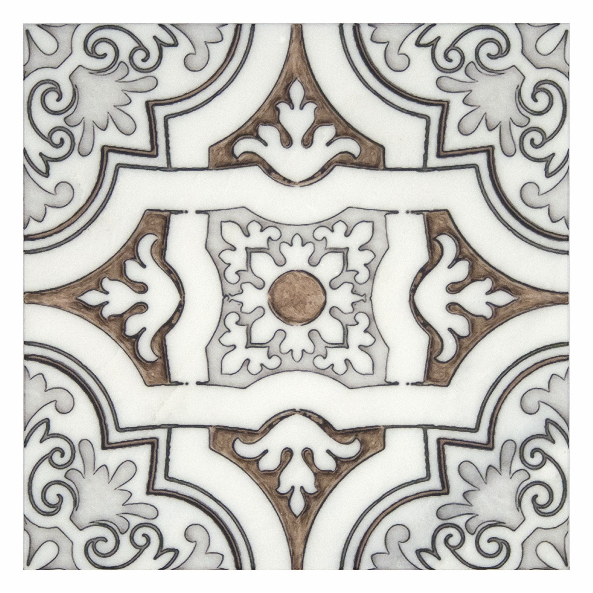 12X12 Decorative Tiles Glamorous Art Deco Tiles Unique Decorative Accents 6X6 12X12 Carrara Marble Decorating Design