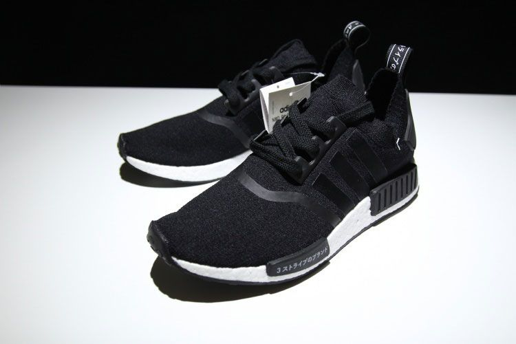 423d99d1fca20 New Adidas NMD R1 Primeknit Black Japan Boost Womens And Mens Sneakers