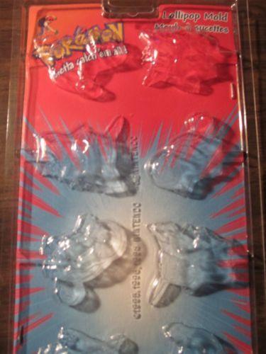 Wilton Lollipop Candy Molds Pokemon Vintage Ebay 8 00