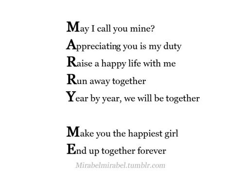 Marry You Tumblr Sweet Quotes Love Marriage Married Life