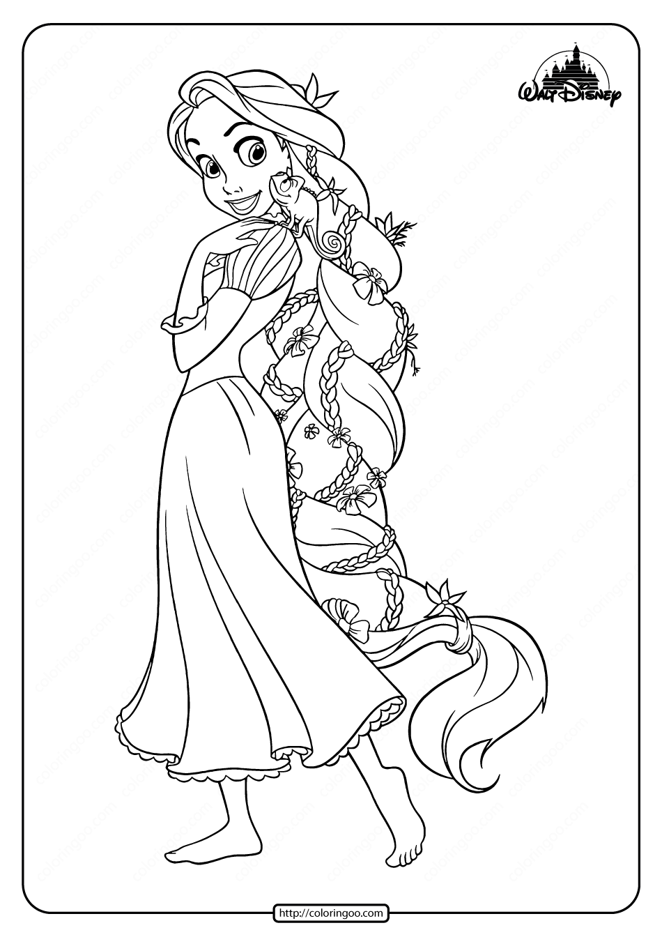 Free Printable Tangled Coloring Pages For Girls In 2020 Tangled Coloring Pages Rapunzel Coloring Pages Coloring Pages For Girls