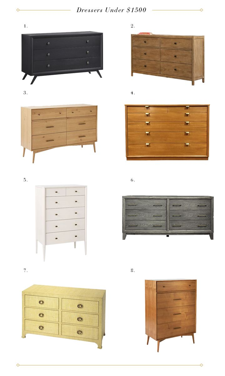 My 38 Favorite Dressers In The World And Where To Them