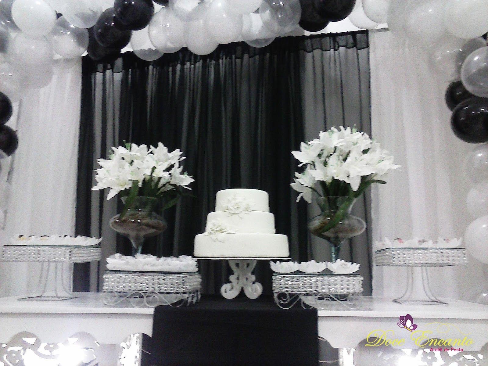 Famosos festa branco e preto para homem - Pesquisa Google | decoraçao  HD17