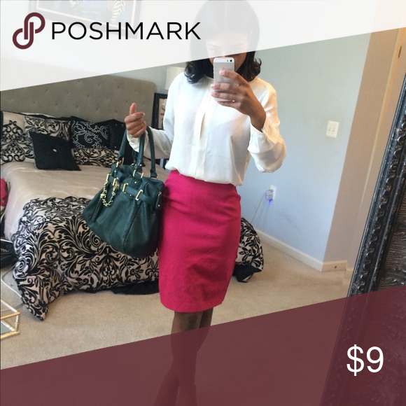 sold Fushia skirt Fushia skirt Skirts Midi