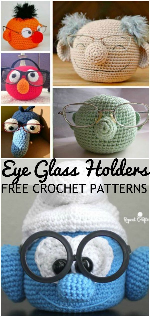 Photo of Crochet Eyeglasses Holder Pattern Ideas | The WHOot – Stricken anleitungen,Stric…