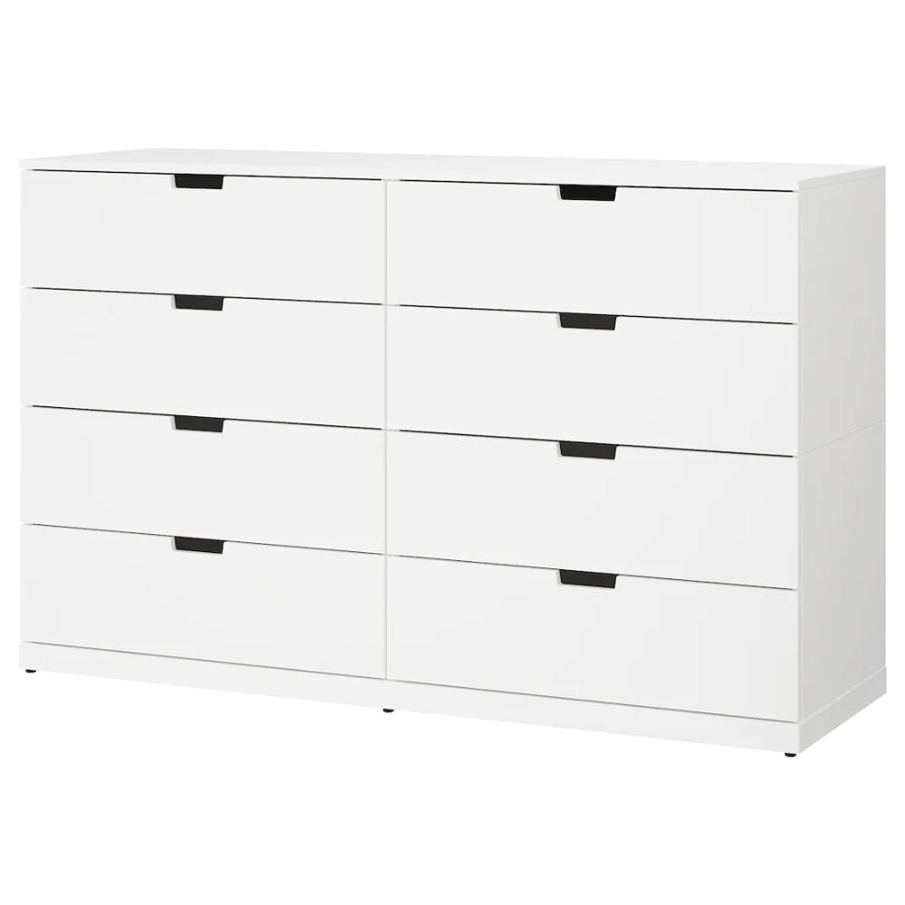 Nordli 8 Drawer Dresser White 160x99 Cm Find It Here Ikea Ikea Nordli Dresser Drawers 8 Drawer Dresser