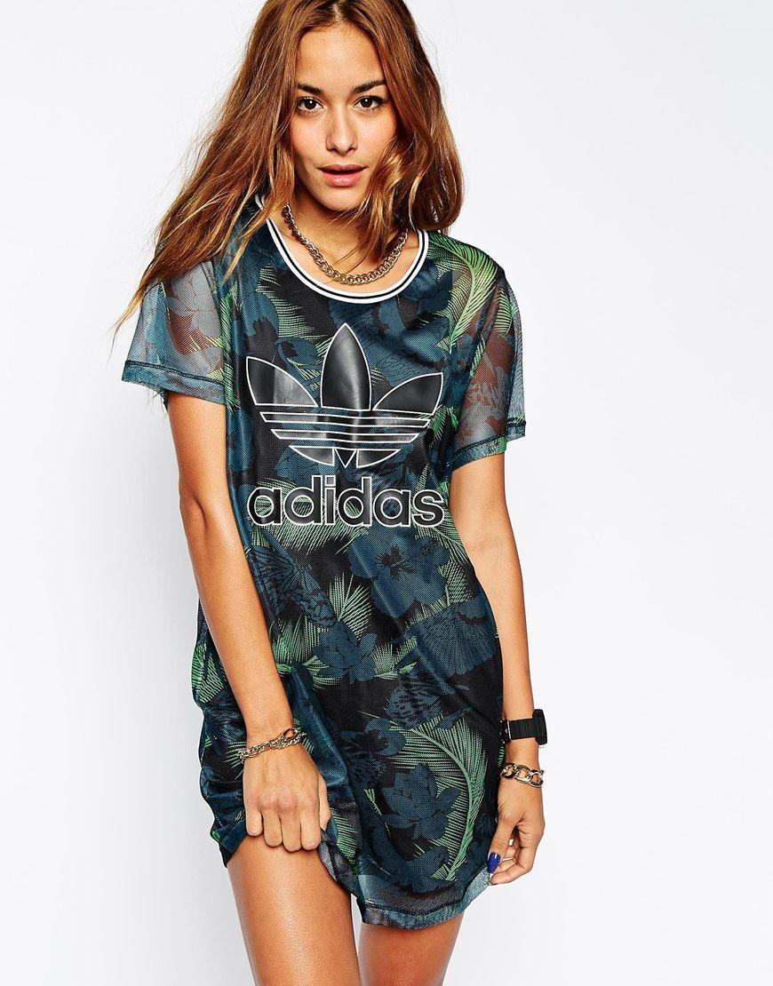 Immagine 1 Di Adidas Originali Hawaii Vestito Maglie Rappresentano 1 Girl